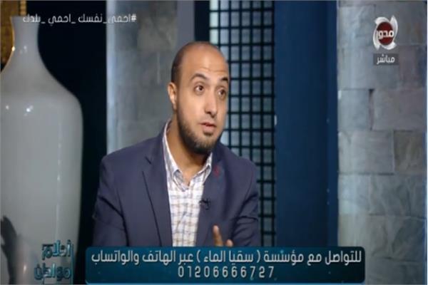 الشيخ أحمد علوان أحد علماء الأزهر الشريف