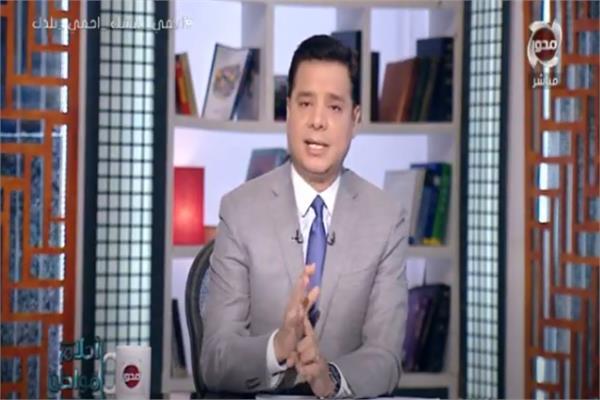 الإعلامى هاني عبدالرحيم