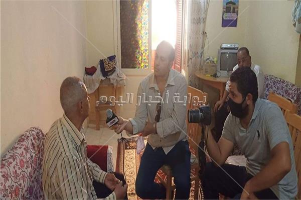 محرري بوابة اخبار اليوم مع اهالي الاسمرات