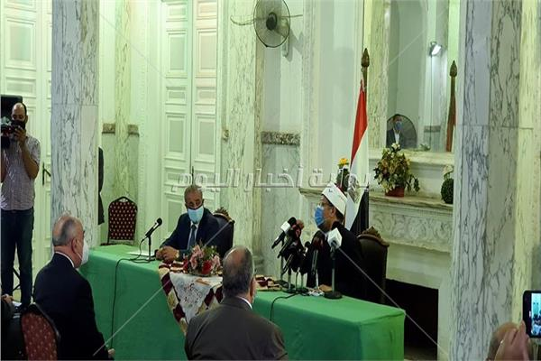 وزير الأوقاف يفتتح مؤتمر توقيع بروتوكول التعاون مع التموين الخاص بصكوك الأضاحي