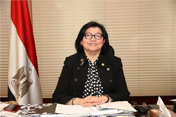 الدكتورة لميس نجم مستشار أول محافظ البنك المركزي المصري