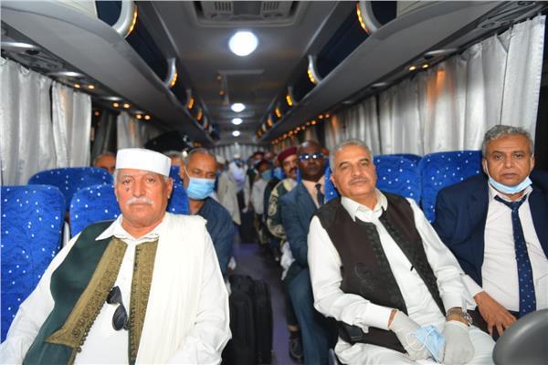 وفد المجلس الأعلى لشيوخ وأعيان القبائل الليبية