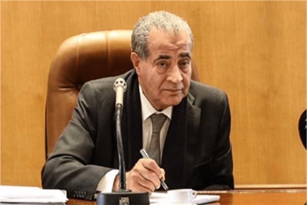 وزير التموين والتجارة الداخلي علي مصيلحي