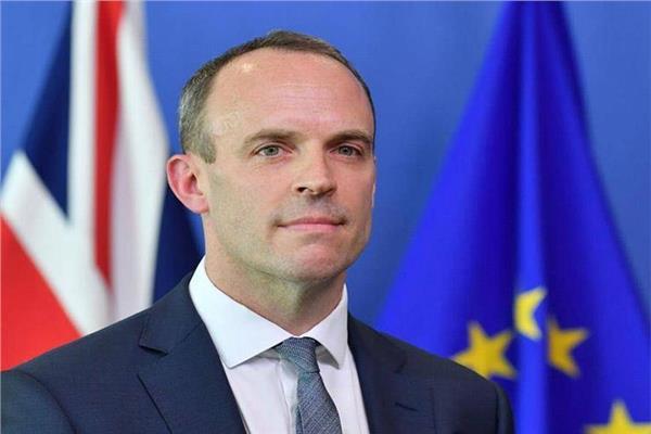 وزير الخارجية البريطاني دومينك راب