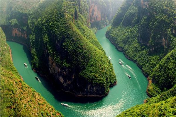 نهر اليانغتسي - صورة أرشيفية
