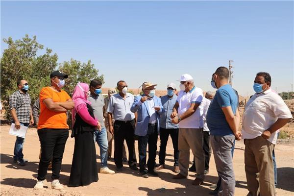 محافظ الوادي الجديد محمد الزملوط