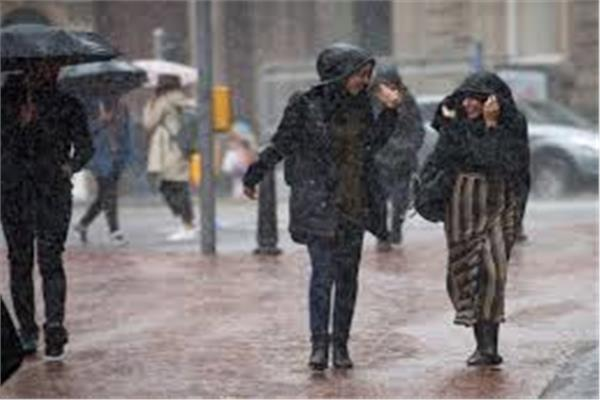 رطوبة مرتفعة و أمطار
