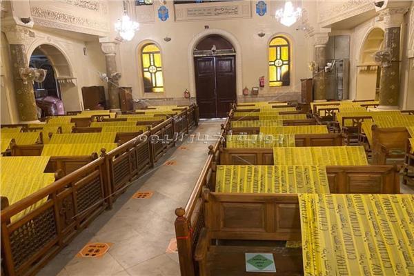 الكنائس القبطية الارثوذكسية