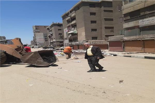 في ثالث أيام العيد.. حي شرق شبرا الخيمة بالقليوبية يرفع 20 طن مخلفات وقمامة