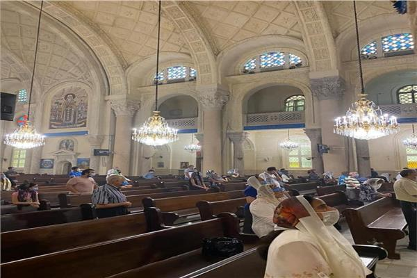 قداس بكاتدرائية الاسكندرية