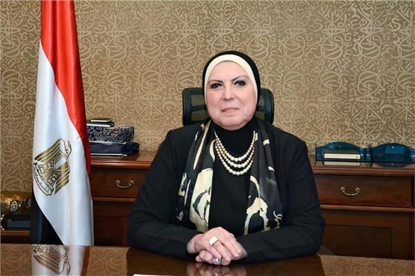 نيفين جامع وزيرة التجاة والصناعة