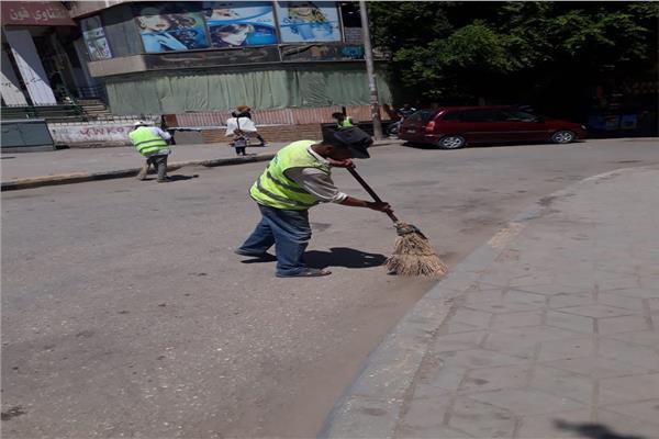 محافظة الجيزة ترفع 45 الف طن مخلفات وقمامة فى عيد الاضحى