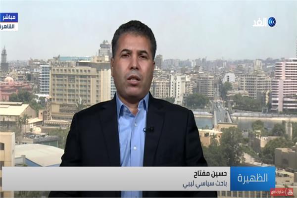 الكاتب والباحث السياسي الليبي حسين مفتاح
