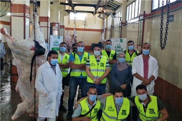 مصر الخير توزع لحوم 143 رأس ماشية خلال عيد الأضحى بقرى البحيرة