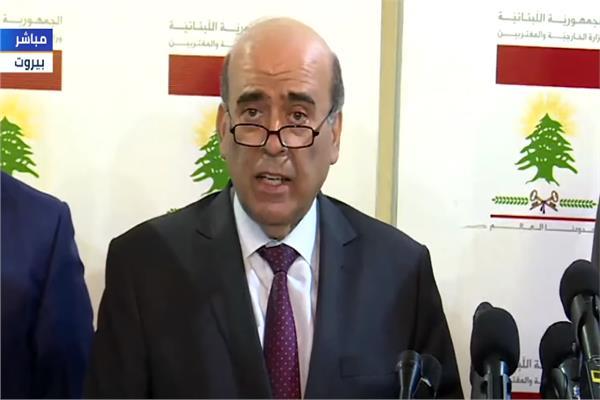 وزير الخارجية اللبناني الجديد
