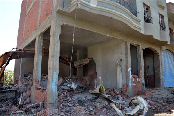 حملة مكبرة لإزالة المباني المخالفة