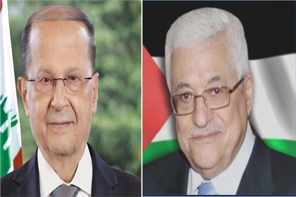 محمود عباس وميشال عون
