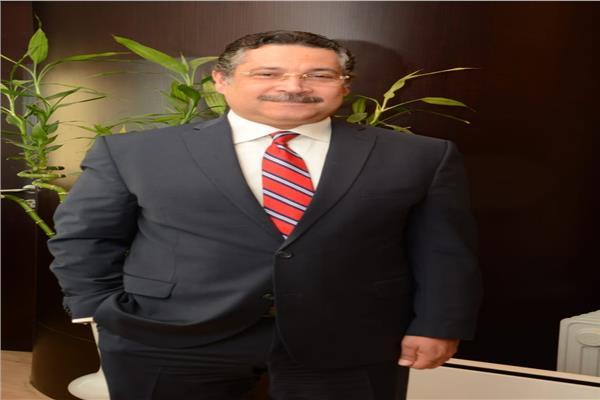 حسن غانم رئيس بنك التعمير والإسكان