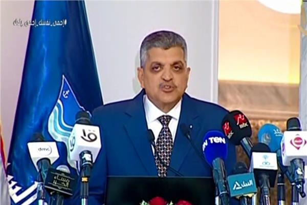 رئيس هيئة قناة السويس في الذكرى الخامسة لافتتاح القناة