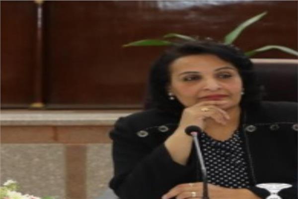 الدكتورة سعاد عبد الرحيم مديرة المركز القومي للبحوث الاجتماعية والجنائية