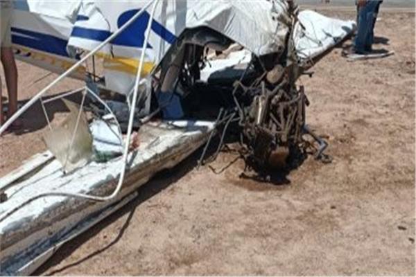 سقوط طائرة خاصة بالغردقة