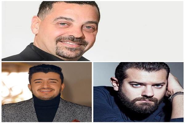طارق العريان وعمرو يوسف وأحمد سامي