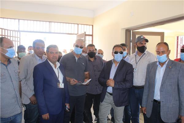 الانتهاء من أعمال قرى المرحلة الأولى للمبادرة الرئاسية حياه كريمة
