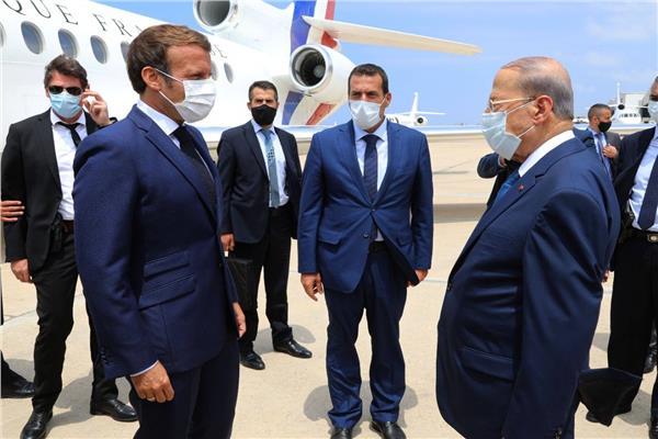 ماكرون يتعرض لموقف محرج في بيروت بسبب الكهرباء