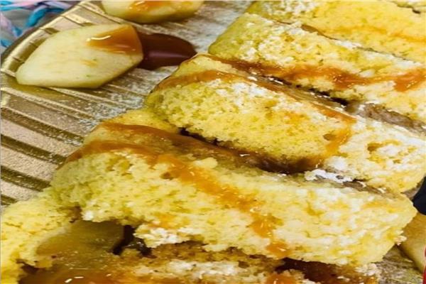«حلو اليوم».. «كيك رول التفاح»