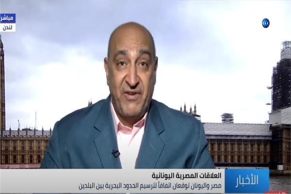 الكاتب والمحلل السياسي خالد مصطفى
