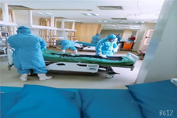 معهد الكبد القومي يسجل صفر اصابات واغلاق لوحدة العزل  صور