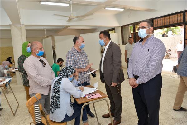 جامعة أسيوط تعلن انطلاق أعمال اختبارات القدرات وسط إجراءات احترازية للوقاية من فيروس كورونا