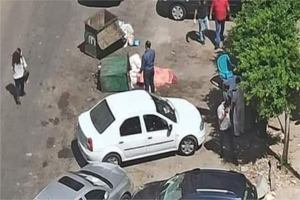العثور علي جثة سيدة مقسومة نصفين وبلا رأس بصندوق قمامة بالإسكندرية