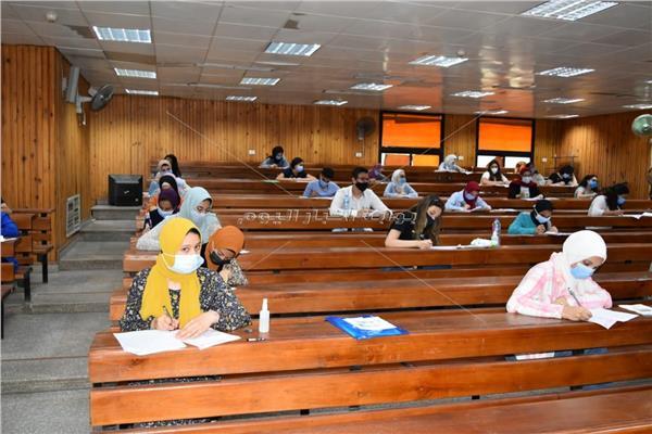 امتحانات القدرات بكلية التربية الرياضية بنات بجامعة حلوان