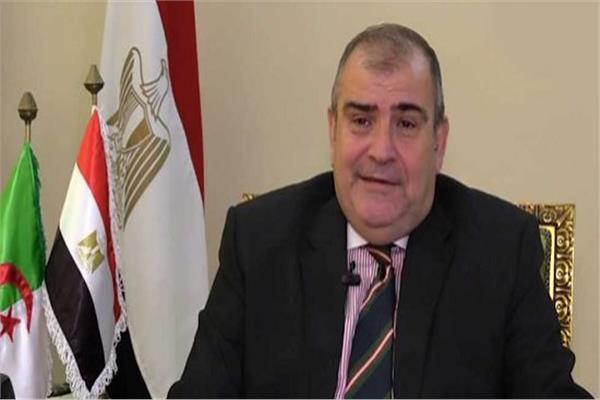 السفير أيمن مشرفة سفير مصر بالجزائر