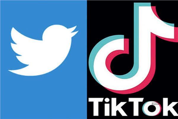 تويتر وتيك توك