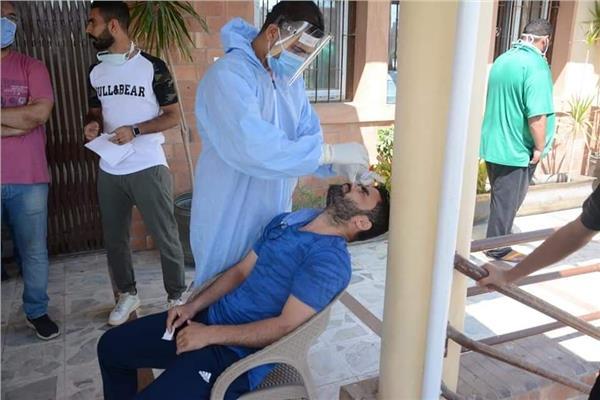 لاعبو القناة يخضعون للمسحة الطبية