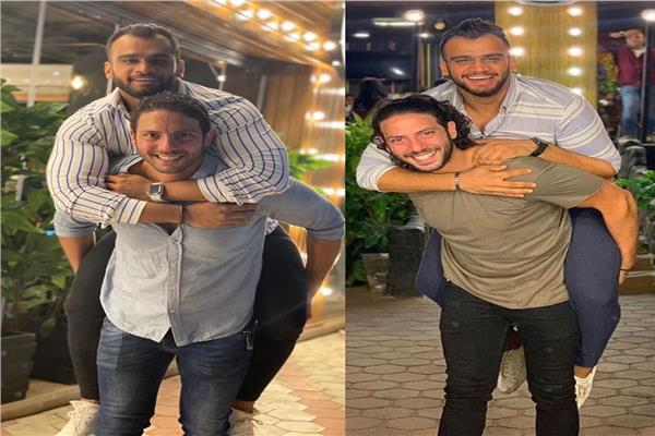 أحمد جمال سعيد ومصطفى حفناوي