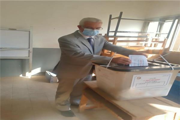 الدكتور عادل مبارك رئيس جامعة المنوفية