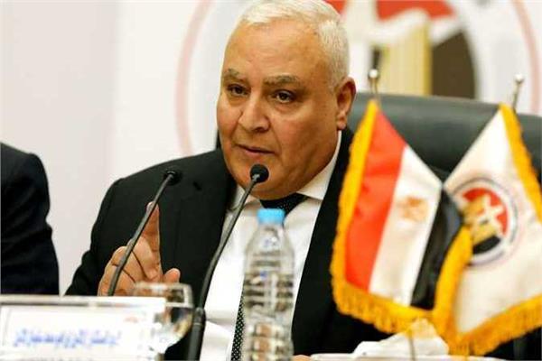 المستشار لاشين إبراهيبم، رئيس الهيئة الوطنية للانتخابات