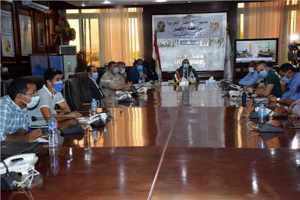 غرفة العمليات الرئيسية لمتابعة الانتخابات بمحافظة الأقصر