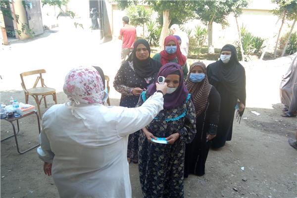 المرأة المصرية تشارك في اليوم الثاني لانتخابات مجلس الشيوخ ٢٠٢٠ بالمحافظات