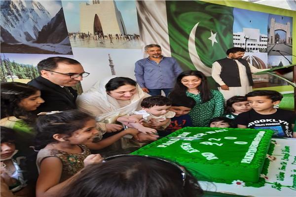 الجالية الباكستانية بالقاهرة تحتفل بعيد إستقلال بلادها