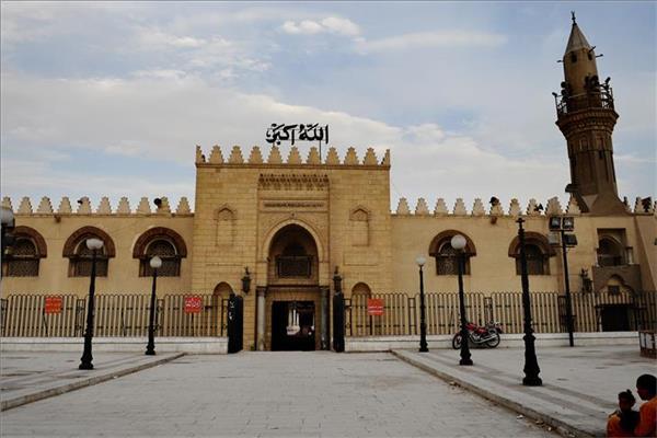مسجد عمرو بن العاص بالقاهرة