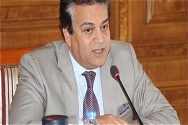 د. خالدعبدالغفار وزيرالتعليم العالي