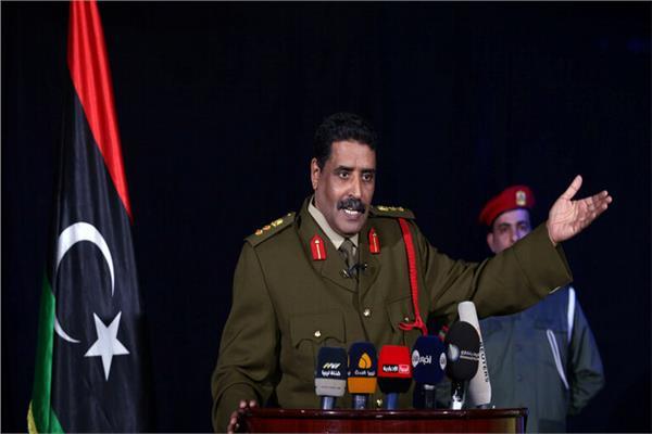 المتحدث باسم الجيش اللواء أحمد المسماري