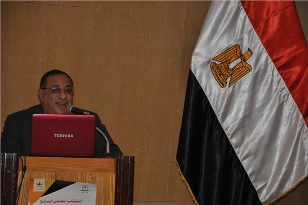 الدكتور ماجد نجم رئيس جامعة حلوان