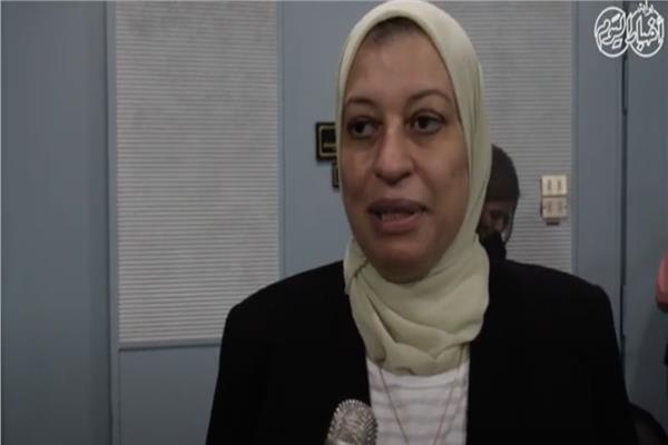 نجوى صلاح  - وكيل وزارة الشباب والرياضة للبرامج الثقافية والفنية