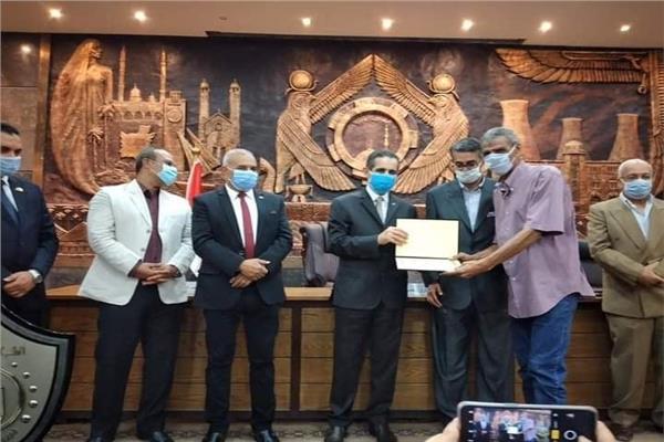 محافظ الغربية يشهد مراسم إيقاد الشعلة الأولمبية لأولمبياد الطفل المصرى٢٠٢٠ .