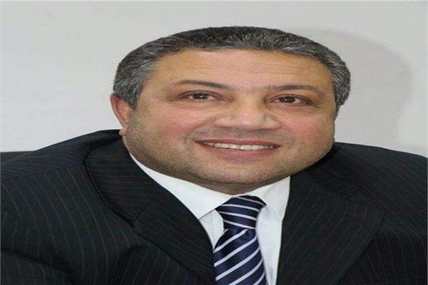 احمد رمزي رئيس شعبه الهندسه المدنية